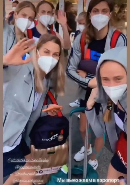 Российские синхронистки после сборов в Улан-Удэ сегодня отправились на Олимпиаду в Токио